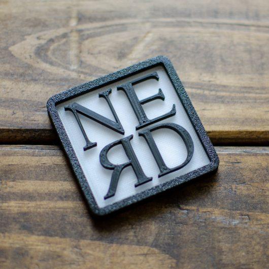 3D Nerd Square
